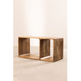Modulaire plank in Yaris van mangohout, miniatuur afbeelding 4