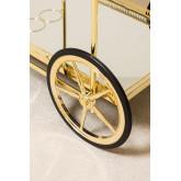 Ashi Serveersterwagen met metalen en spiegels, miniatuur afbeelding 5