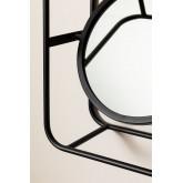 Metalen plank met spiegel Niver, miniatuur afbeelding 4