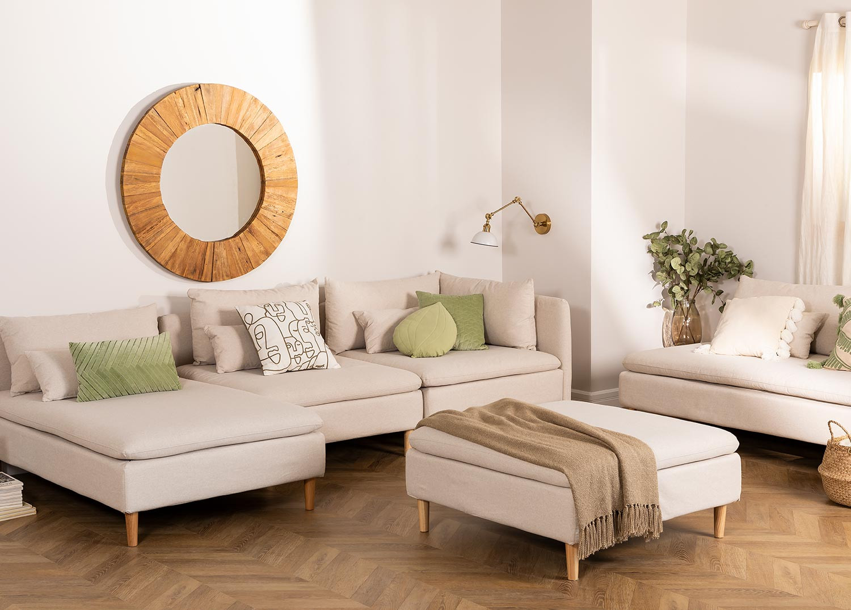 Modules voor Sofa in stof Javir , galerij beeld 1