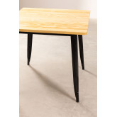 LIX houten tafel (80x80), miniatuur afbeelding 2