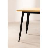 LIX houten tafel (80x80), miniatuur afbeelding 3
