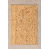 XL Gevlochten deurmat in Jute (90x60 cm) Elaine, miniatuur afbeelding 1