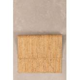 XL Gevlochten deurmat in Jute (90x60 cm) Elaine, miniatuur afbeelding 2