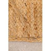 XL Gevlochten deurmat in Jute (90x60 cm) Elaine, miniatuur afbeelding 3