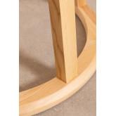Ronde houten eettafel (Ø120 cm) Celest, miniatuur afbeelding 5