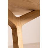 Ronde houten eettafel (Ø120 cm) Celest, miniatuur afbeelding 4