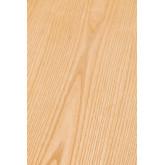 Ronde houten eettafel (Ø120 cm) Celest, miniatuur afbeelding 6