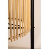 Vloerlamp met bamboe planken Loopa, miniatuur afbeelding 4