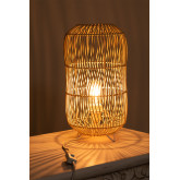 Tafellamp in rotan Api , miniatuur afbeelding 4