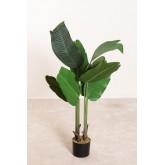 Decoratieve kunstmatige bananenplant, miniatuur afbeelding 1