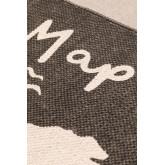 Katoenen vloerkleed (180x120 cm) Map, miniatuur afbeelding 3