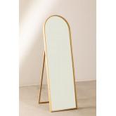 Staande spiegel in grenenhout (137x45,5 cm) naty, miniatuur afbeelding 2