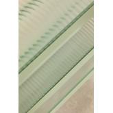 5 planken rekken in metaal en verticaal glas, miniatuur afbeelding 6