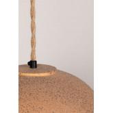 Plafondlamp in porselein Ouval, miniatuur afbeelding 6