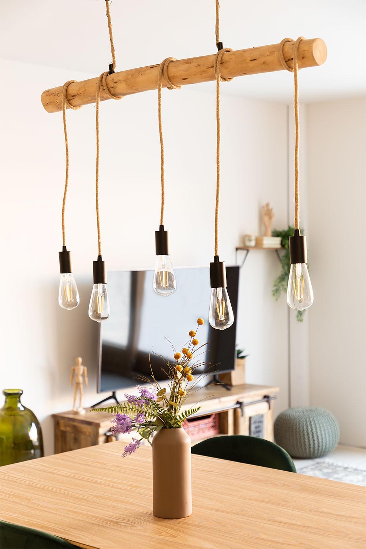 Silian naturel Plafondlamp , galerij beeld 1
