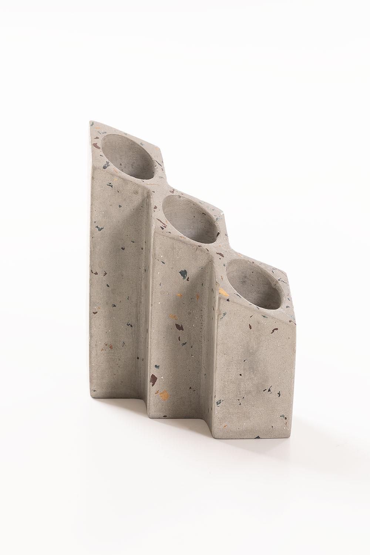 Yotuel Cement kaarsenhouder, galerij beeld 1