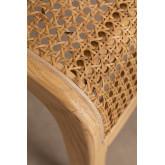 Asly Elm Wood eetkamerstoel, miniatuur afbeelding 6