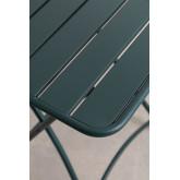 Opklapbare stalen tuintafel (60x60 cm) Janti , miniatuur afbeelding 4