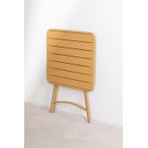 Opklapbare stalen tuintafel (60x60 cm) Janti , miniatuur afbeelding 5