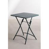 Janti opklapbare tafelset (60x60 cm) & 2 Janti opklapbare tuinstoelen, miniatuur afbeelding 3