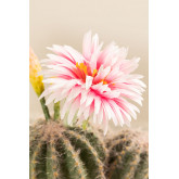Kunstcactus met Rebutia-bloemen, miniatuur afbeelding 4