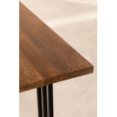 Rechthoekige eettafel in mangohout (150x90 cm) Betu, miniatuur afbeelding 6