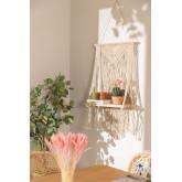 Atena katoenen wandtapijt met wandplank, miniatuur afbeelding 1