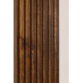 Rechthoekige houten wandspiegel (120x70,5 cm) Medel, miniatuur afbeelding 5