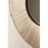 Ronde wandspiegel in Macramé (Ø60 cm) Faustin, miniatuur afbeelding 3