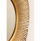 Ronde metalen wandspiegel Nazar, miniatuur afbeelding 4