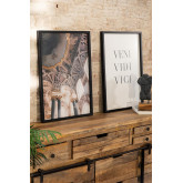 Set van 2 decoratieve prints (50x70 cm) Da vinci, miniatuur afbeelding 1