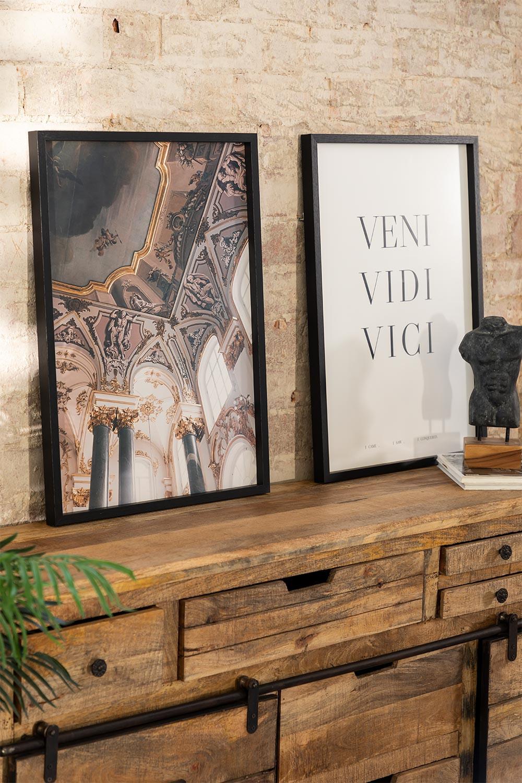 Set van 2 decoratieve prints (50x70 cm) Da vinci, galerij beeld 1