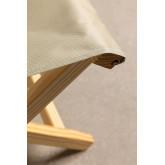 Dalma Colors opvouwbare houten kruk, miniatuur afbeelding 5