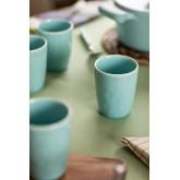 Set van 4 Biöh keramische glazen, miniatuur afbeelding 1