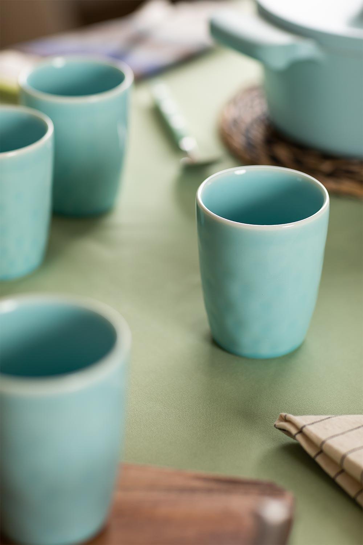 Set van 4 Biöh keramische glazen, galerij beeld 1