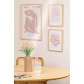 Set van 3 decoratieve prints (50x70 en 30x40 cm) Donna, miniatuur afbeelding 1