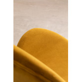 Fior Fluwelen eetkamerstoel, miniatuur afbeelding 6