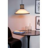 Plafondlamp in rotan Ayram, miniatuur afbeelding 2