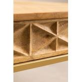 Rechthoekige eettafel (183x94 cm) Alba, miniatuur afbeelding 6