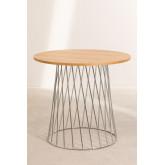 tafel Mura natuurlijk metallic, miniatuur afbeelding 2