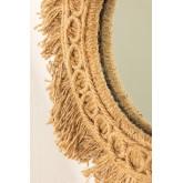 Ronde wandspiegel met touw (Ø40 cm) Remie, miniatuur afbeelding 3