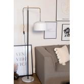 Vloerlamp met Fendi hangscherm, miniatuur afbeelding 1