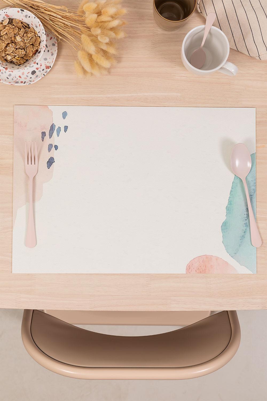 Individueel tafelkleed in vinyl Bemus, galerij beeld 1