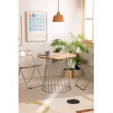 tafel Mura natuurlijk metallic, miniatuur afbeelding 1