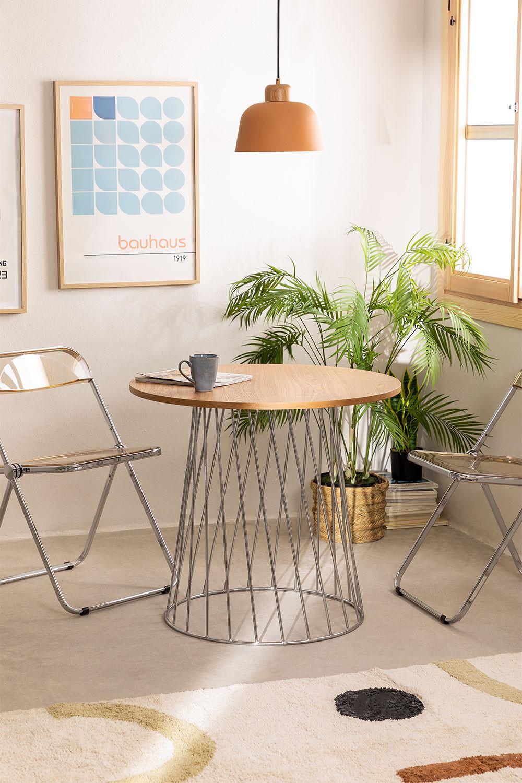 tafel Mura natuurlijk metallic, galerij beeld 1