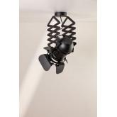 Gabon uitschuifbare plafondlamp, miniatuur afbeelding 2