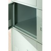 Pohpli metalen locker met 6 deuren, miniatuur afbeelding 5