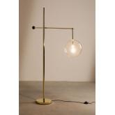 Metalen vloerlamp Lomy, miniatuur afbeelding 3