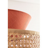 Plafondlamp in rotan Yereh, miniatuur afbeelding 6